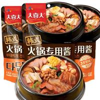 大喜大 韩式火锅专用酱3连包 300g