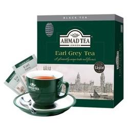 亚曼茶AHMAD TEA 原装进口袋泡茶量贩装 伯爵红茶2g*100包