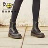 马汀博士1460 Pascal Wanama软皮8孔马丁靴英伦风女靴