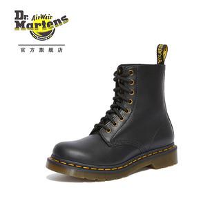 Dr.Martens 马丁大夫 24991001 黑色软皮8孔马丁靴