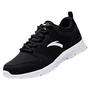 ANTA 安踏 安踏男鞋跑步鞋2021新款春夏季休闲鞋轻便男士鞋子网面透气运动鞋