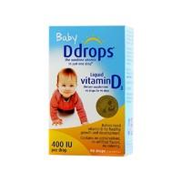 baby Ddrops 婴儿维生素D3滴剂 400IU 90滴/瓶装 *4件