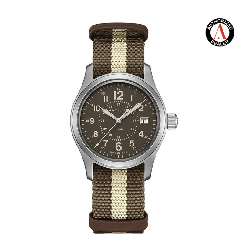 HAMILTON 汉米尔顿 H68201093 Khaki Field 男士石英手表
