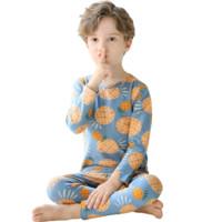 我买的童装 篇九十二:俞兆林菠萝印花儿童内衣套装
