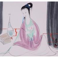 【朵云轩木版水印】林风眠 赏花 中国画装饰画收藏馈赠