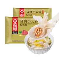 京东PLUS会员、限地区:龍鳯  猪肉小云吞 320g/盒  *13件