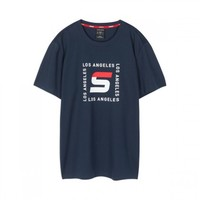 SKECHERS 斯凯奇 L220M047 男子短袖T恤 *2件