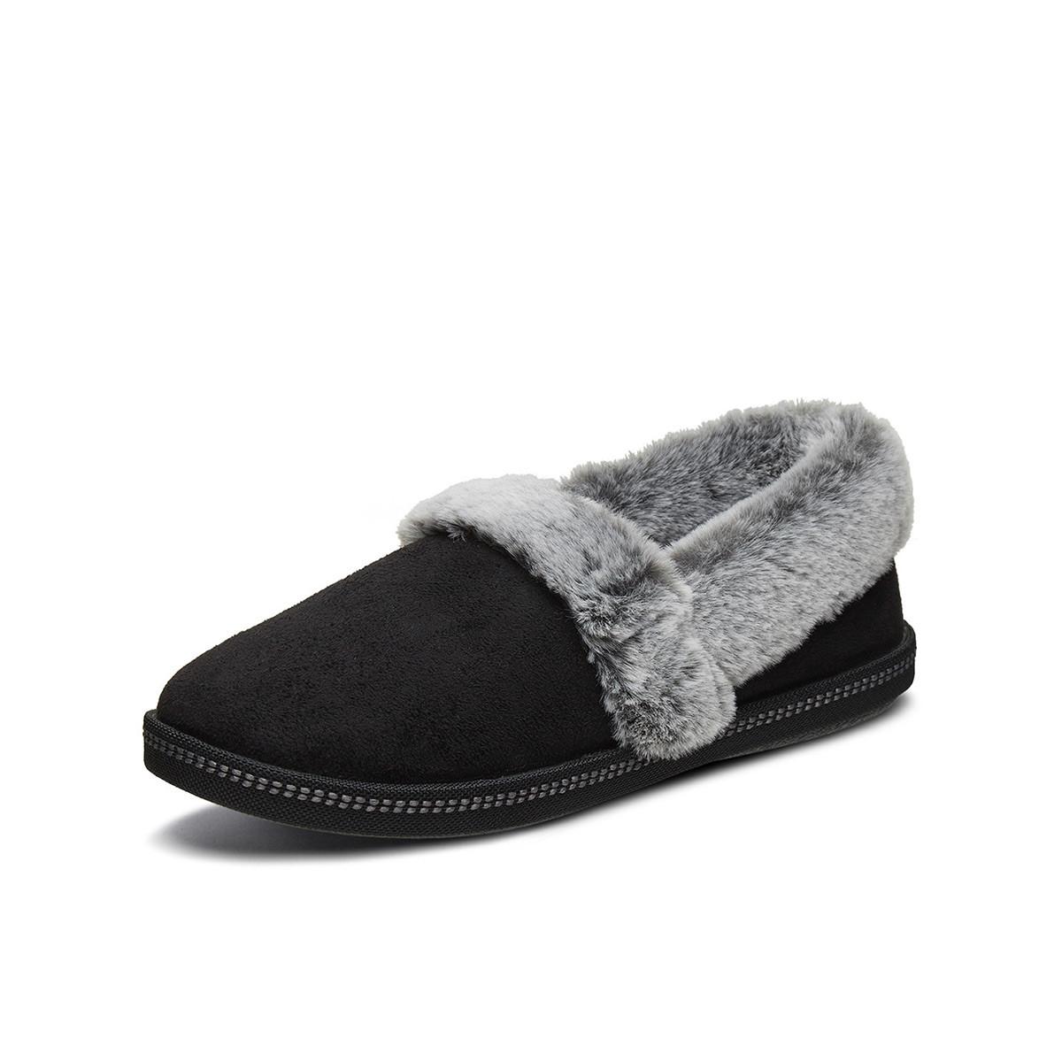 SKECHERS 斯凯奇 32777-BLK  女士棉鞋