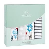 aden anais 婴儿纱布盖被 4只礼盒装 梦想之旅 +凑单品