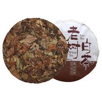 嘉木福 2017年老枞福鼎老白茶饼 350g *3件
