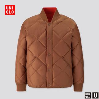 UNIQLO 优衣库 420430 男士保暖两面穿外套