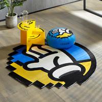 1日0点:KUKa 顾家家居 INXX联名像素地毯