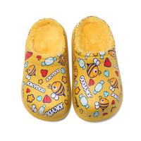 小布嘟 儿童半包跟软底棉拖鞋