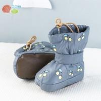 Bornbay 贝贝怡 宝宝加绒加厚学步鞋