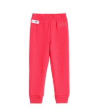 Gap 盖璞 女幼童LOGO洋气运动裤 春季新款童装针织束脚裤长裤儿童裤子