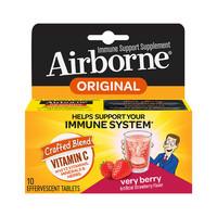 88VIP: Schiff Airborne 维生素C泡腾片 莓果味 10粒/盒 *2件