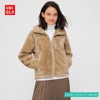 UNIQLO 优衣库 430126 女士摇粒绒短外套