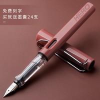 HERO 英雄 正姿练字钢笔 1支+墨囊24支