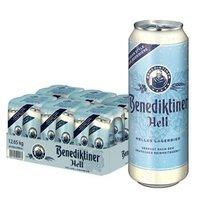 限地区:Benediktiner 百帝王 拉格啤酒 500ml*24听 *3件