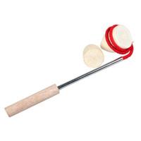 PINMOO 品沐 儿童木质陀螺 两个陀螺+木杆鞭子