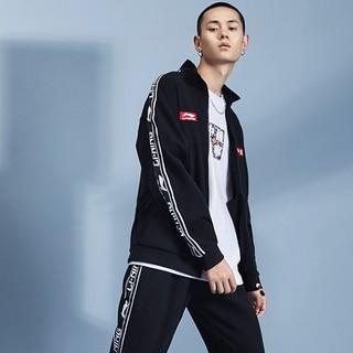 LI-NING 李宁 AFDP467 男子针织运动外套