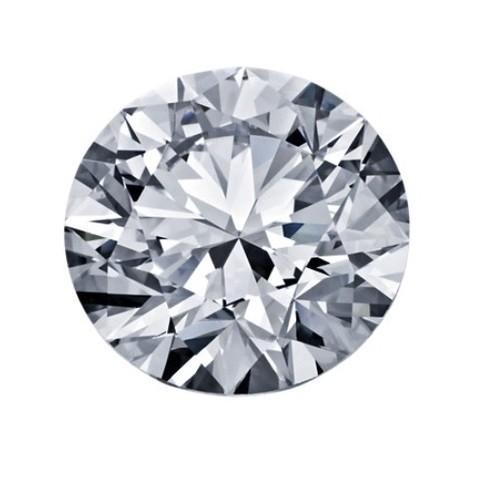 超值黑五:Blue Nile 5.21克拉 圆形切割钻石(理想切工、D级成色、VS1净度)