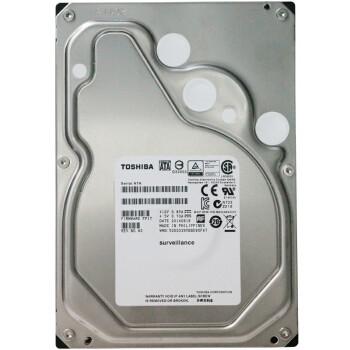 TOSHIBA 东芝 DT02ABA400 监控级机械硬盘 4TB