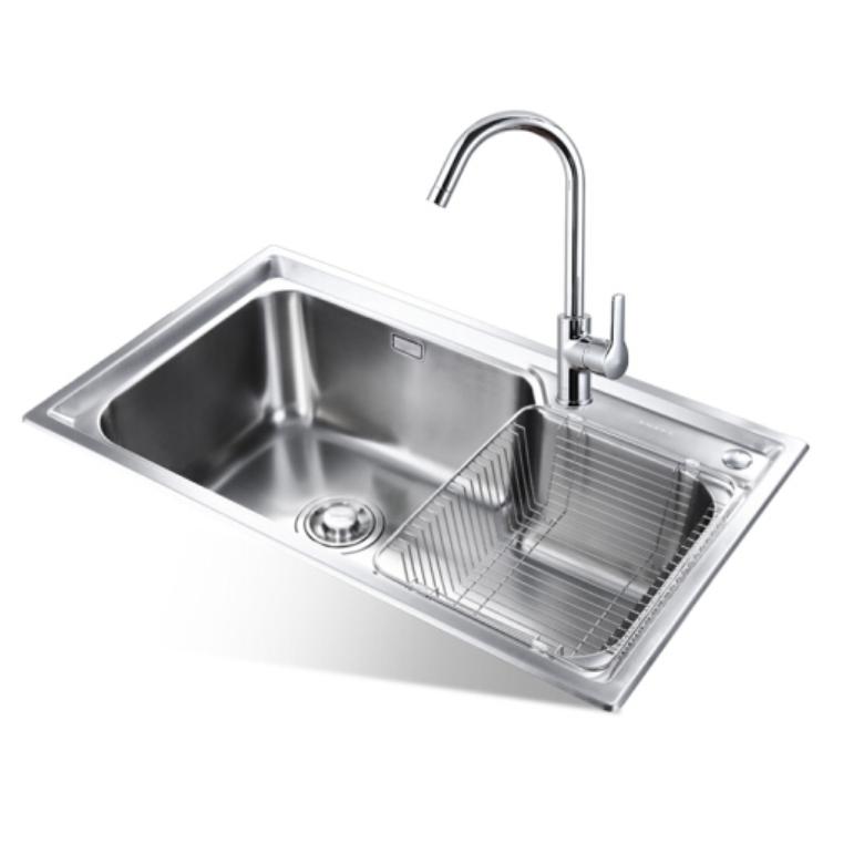 1日0点 : JOMOO 九牧 02228 不锈钢厨房水槽配龙头套餐