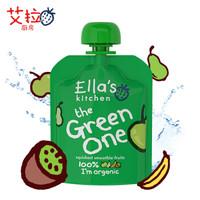 Ella's Kitchen 艾拉的厨房 有机苹果香蕉梨子奇异果混合果泥 90g *6件