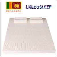 LKECO斯里兰卡原装进口95%天然乳胶床垫榻榻米床垫 (送2个乳胶枕)
