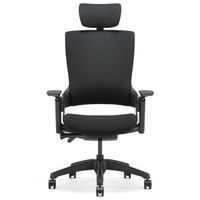 1日0点:UE 永艺 Mellet 人体工学椅(经典黑布黑框)