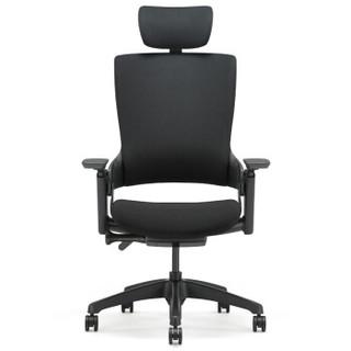 UE 永艺 Mellet 人体工学椅(经典黑布黑框)