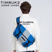 TIMBUK2 天霸 TKB1108-1-2389 男士经典帆布邮差包 皇家蓝 M