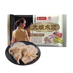 吴大娘 大娘水饺 鲜菇玉米猪肉水饺 720g(蒸饺 饺子 煎饺 锅贴 早餐食材 火锅食材) *10件