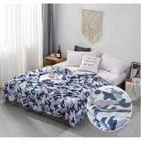 博洋冬季珊瑚绒单人加厚毛毯毯子双人午睡毯保暖法兰绒毛毯被子