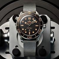 OMEGA 欧米茄 海马系列 007限量款 210.90.42.20.01.001 潜水自动机械男表