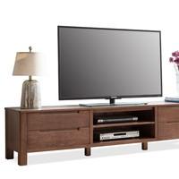 历史低价:YESWOOD 源氏木语 Y2932 北欧全实木橡木电视柜 150*40*45cm
