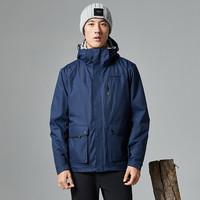 探路者 TAWH71939 三合一羽绒冲锋衣