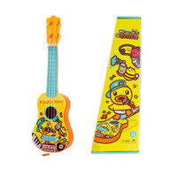 有券的上:B.DUCK 小黄鸭 儿童小吉他  可弹奏玩具乐器  *2件