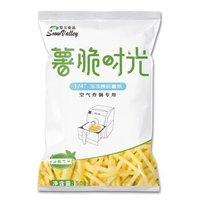 雪川 薯脆时光 空气炸锅专用细薯条 500g *18件
