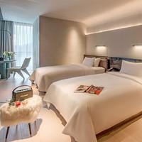 深圳大学城尚美水晶酒店 水晶大床房/双床房2晚 可拆分