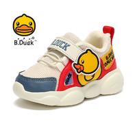 B.Duck 小黄鸭 男童加绒运动鞋