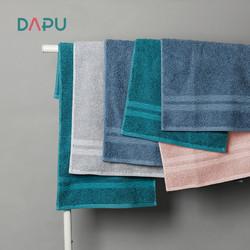 大朴 A类素色纯棉毛巾 单条装 *2件
