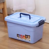 AISIDUN 爱思顿 塑料收纳箱 10L*2个装 3色可选
