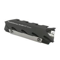 利民(Thermalright)2280 pro固态散热器全铝散热片阳极喷砂工艺带8mm 热管 2280规格 双层硅胶片
