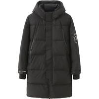 30日0点:马克华菲 719415032041311 男款冬季长款修身保暖羽绒服