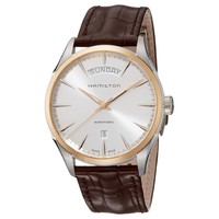 超值黑五、银联爆品日:HAMILTON 汉米尔顿 H42525551 Jazzmaster 男士机械手表