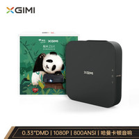 1日0点:XGIMI 极米 Z6X 投影仪 熊猫定制礼盒