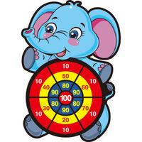 奇棋乐(QIQILE) 卡通动物飞镖盘  3个粘粘球(送挂钩)