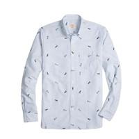 超值黑五、银联爆品日:Brooks Brothers 布克兄弟 1818系列男士三角旗棉质牛津衬衫